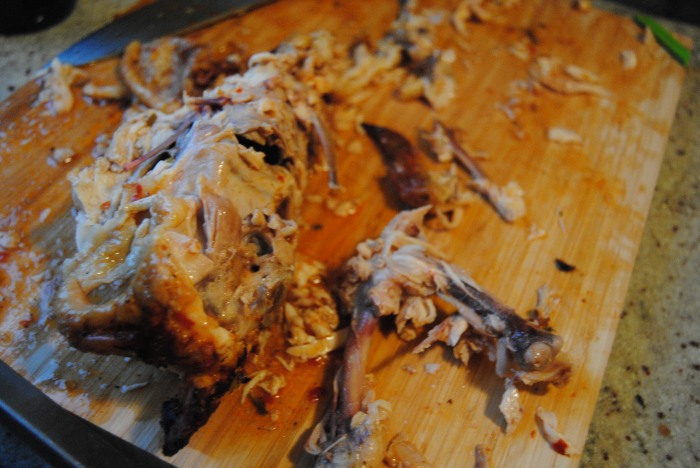 Yeah, we crushed this bird.
